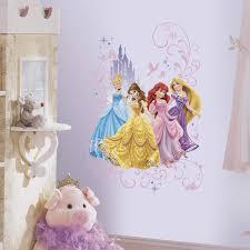 Amazon Com Roommates Disney Princess Wall Graphix Peel And Stick Giant Wall Decals Multicolor Home Improvement