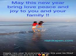 this new year bring love peace and joy to you and your family