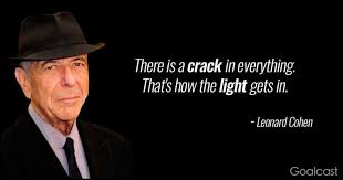 leonard cohen quotes to make you dance to the end of love