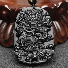 dragon pendant beads necklace charm