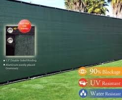 8 X 50 Privacy Screen Fence Green Construction Residential Fence Construction Fence Screening Green Construction