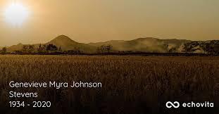 "Genevieve Myra Johnson ""Gen"" Stevens Obituary (1934 - 2020) |  Mechanicsville, Virginia"