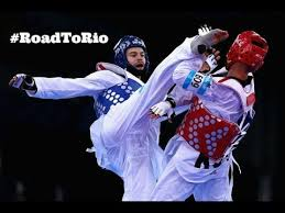 Taekwondo Highlights - Aaron Cook - YouTube