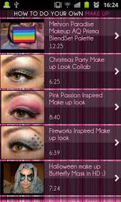 how to do your own makeup for android