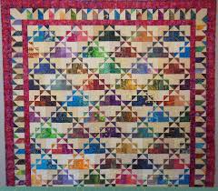 Picket Fence Border For The Dawn To Dusk Quilt Nickelquilts