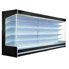 glass door commercial open display