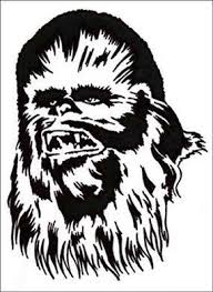 Vwvortex Com Where Can I Find A Wookie Chewy Stencil Or Decal Chewbacca Sticker Book Wallpaper Vinyl