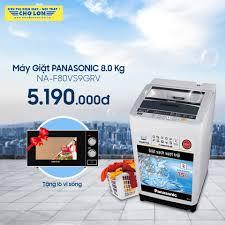 Máy Giặt PANASONIC 8.0 Kg NA-F80VS9... - Siêu Thị Điện Máy - Nội Thất Chợ  Lớn