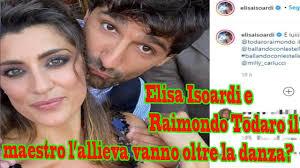 Elisa Isoardi e Raimondo Todaro il maestro l'allieva vanno oltre la danza -  YouTube