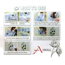 Shop Decor Removable Diy Vinyl Wall Art Sticker Family Decal 23 6 X11 8 Overstock 22854457