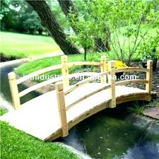 metal garden bridge sy 6 foot black