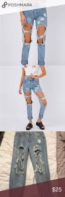 PRINCESS POLLY BROOKS BOYFRIEND JEANS | Boyfriend jeans, Ripped boyfriend  jeans, Princess polly