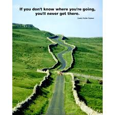 If you don't know where you're going...