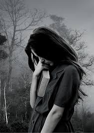 خلفيات بنات حزينه