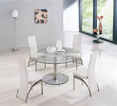 round dining table and chairs on popscreen