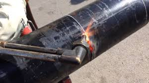 pipe beveling with a cutting torch