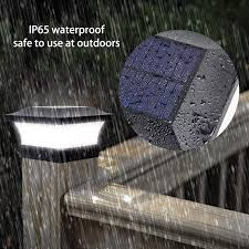 Solar Power Square Post Lights Fence Light Waterproof Outdoor Street Light Led Post Cap Lamp Garden Yard Pool Emergency Lights Outdoor Landscape Lighting Aliexpress