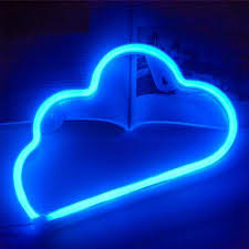 Led Neon Wall Light Battery Or Usb Operated Cloud Lamp Light Up For The Home Kids Room Bar Festive Party Christmas Wedding Neon Bulbs Tubes Aliexpress