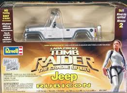 Revell Tomb Raider 2003 2006 Jeep Rubicon Kit With Pre Painted Metal Body