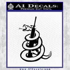 Gadsden Snake Decal Sticker Dont Tread On Me Ar 15 A1 Decals