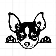 Chihuahua Puppy Dog Window Peeking Custom Auto Car Vinyl Window Sticker Decal Ebay