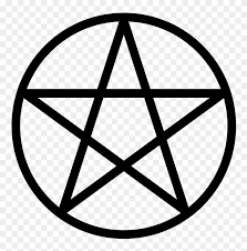 Pentacle Pentacle Pentagram Wicca Vinyl Decal Car Window Bumper Free Transparent Png Clipart Images Download