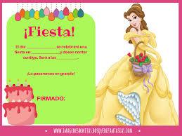 Invitaciones De La Bella Y La Bestia Cumpleanos Y Fiestas