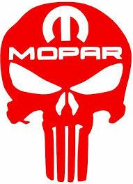 Mopar Punisher Decal 13 Colors Ebay
