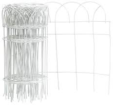 Flower Border Fence Roll 14 X 20 Shop Garden Maintenance Tools At Low Price Lifeandhome Com