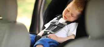 child for the front car seat