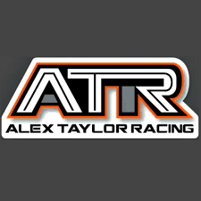 Atr Logo Vinyl Decal Alex Taylor Racing