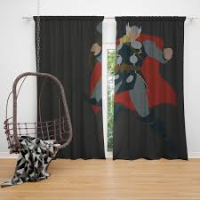 Super Hero Curtains Sets Kids And Teen Window Treatment