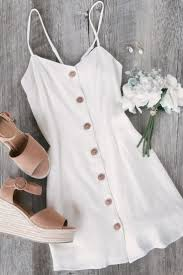 Ada White Button Skater Dress - #Ada #Button #Dres... - #Ada ...