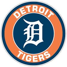 Detroit Tigers E Vinyl Die Cut Decal Sticker 4 Sizes