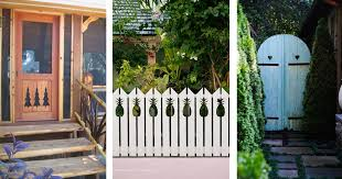 34 Adorably Quirky Cutout Ideas For Fences Railings And Stairs How To Add Cute Curb Appeal