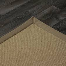 wool pinstripe canvas olive rug cotton