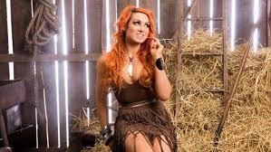 becky lynch d hair redhead orange
