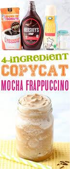 mocha frappe recipe easy copycat