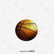 Creativo Juego De Baloncesto Baloncesto Silueta Cifras Acuarela
