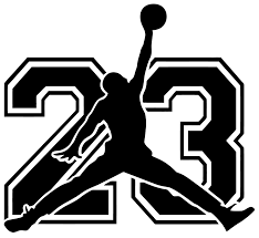 Wall Decal Michael Jordan With Number 23 Wall Sticker Usa In 2020 Jordan Logo Wallpaper Jordan Logo Michael Jordan Tattoo