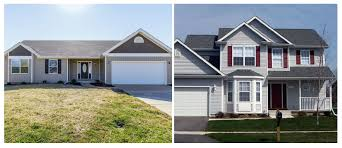 ranch style vs two story homes