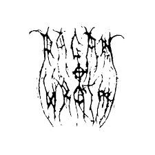 Pagan Wrath Band Logo Vinyl Decal