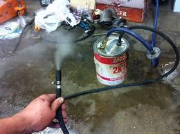 diy smoke machine to find vacuum leaks