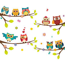 Top 10 Largest Girls Owl Wall Decal Near Me And Get Free Shipping A891