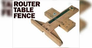 Precision Router Table Fence Plans Woodarchivist