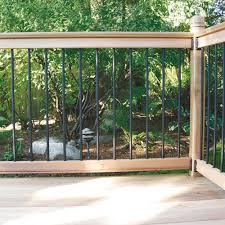 Creative Cedar Railing Kit Rona 111 00 For A 6 Foot Section Of Railing Deck Railing Design Deck Railings Wood Railing