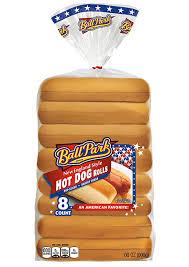 new england hot dog rolls ball park