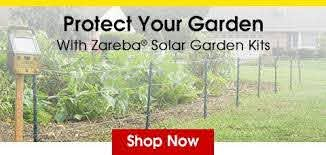 Electric Fence For Raccoons Fence For Squirrles And Rabbits Zareba