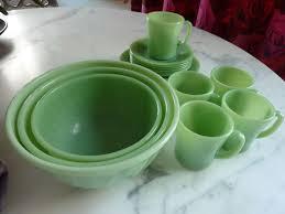 fire king jadeite dinnerware jade green