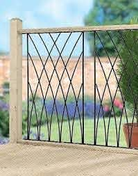 Mdp Modern Wrought Iron Metal Deck Decking Fence Panels Railings Outdoor Metal Deck Wrought Iron Fences
